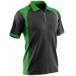 POLO T10 TEAM COL ZIP
